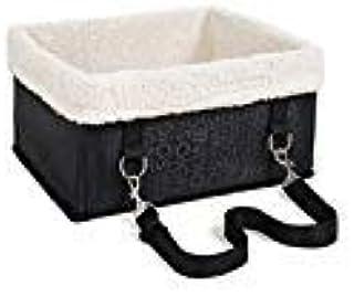 PETTOM Petom Autositz, für kleine Hunde, tragbar, für Katzen, Welpen, Haustiere, zusammenklappbar