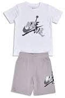 Nike Air Jordan 856941-G4R - Conjunto de 2 Piezas para niño, Color Gris Gris 5-6 Años