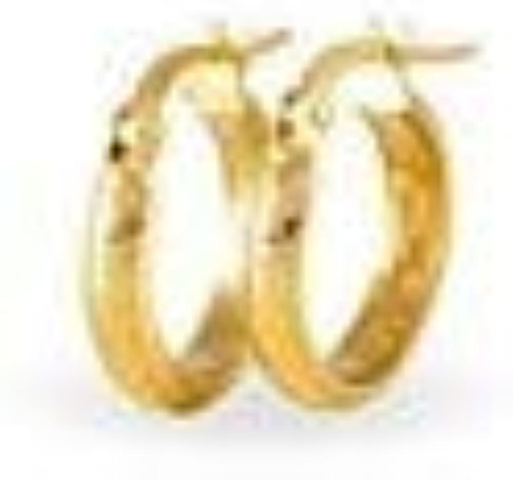 Stroili orecchini a cerchio in oro giallo 9 kt/375 per donna 1401090