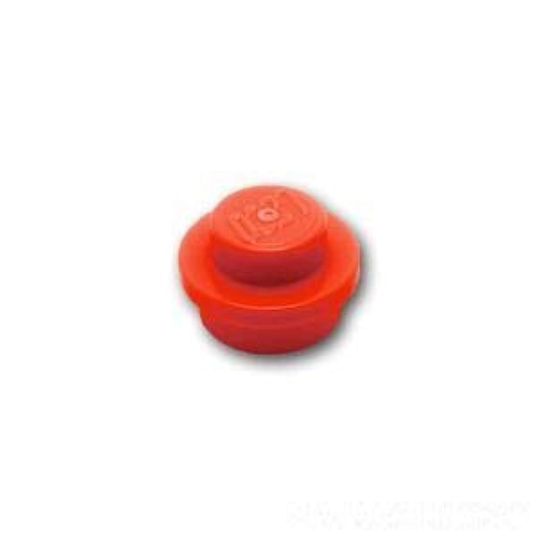第五フェード重要な役割を果たす、中心的な手段となるレゴブロック ばら売りパーツ プレート 1 x 1 ラウンド:[Red / レッド] [並行輸入品]