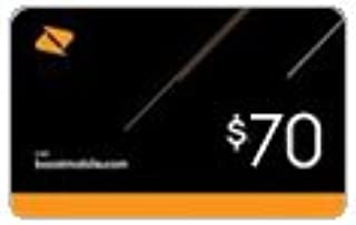 Boost Mobile $70 Reboost Refill Card (Mail Delivery)