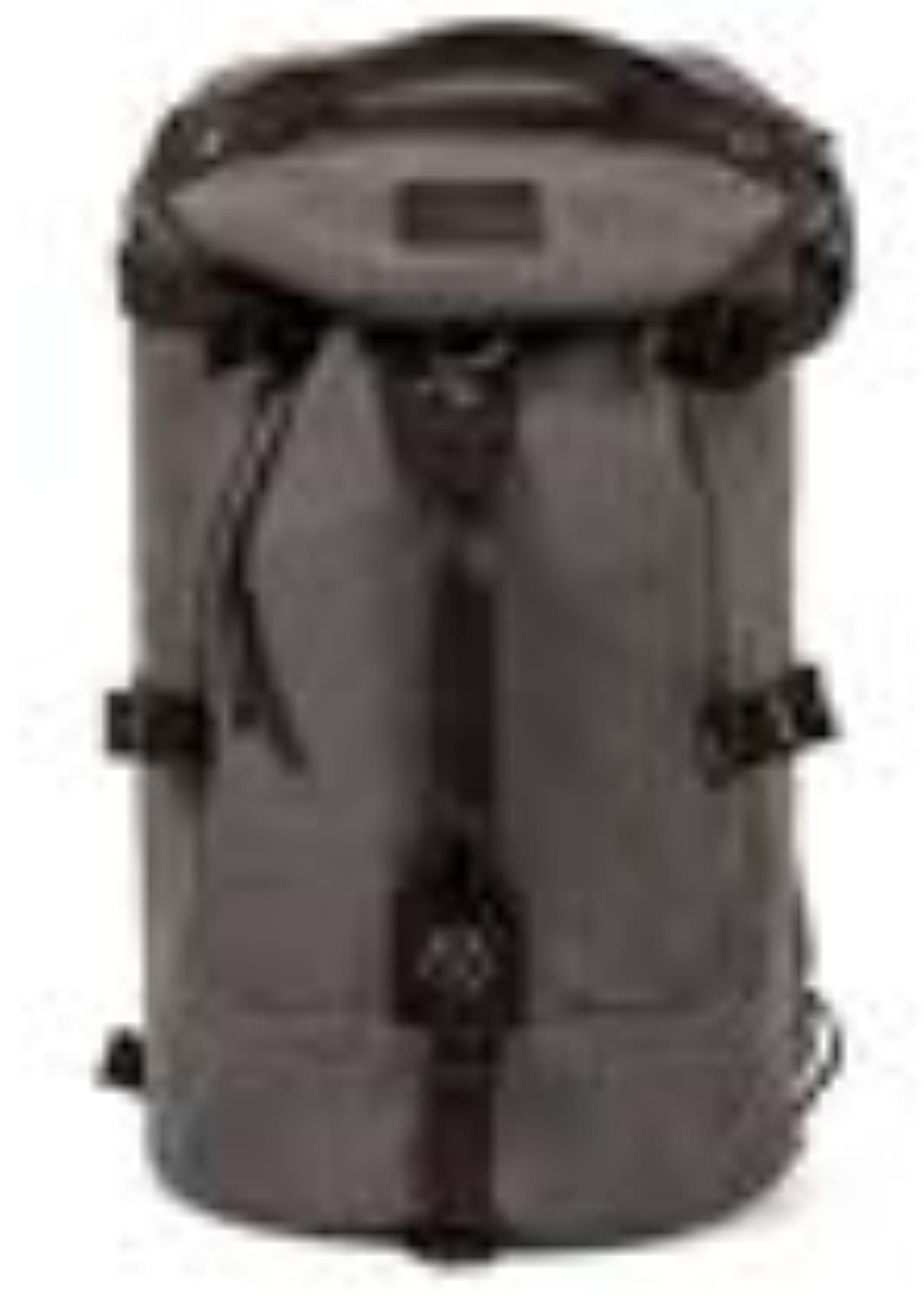 Backpack for Man,LargeCapacity Round Bucket Backpack, Canvas Bag Outdoor Travel Backpack