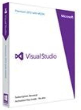 Rnwl Fr Visual Studio Premium W/Msdn Retail 2012 Prog