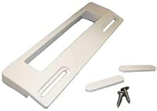 DL-pro Tirador de puerta universal con distancia entre orificios de 11,3 a 16,6 cm, color blanco, para frigorífico, congel...