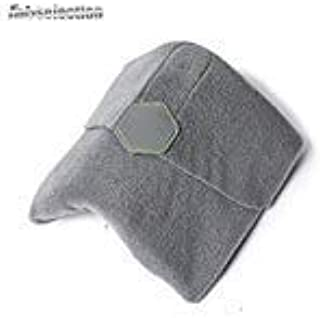 Travel Pillow Neck Support FabSelection Super Soft Light Support Pillow for Man Woman Traveller Car Plane Using (Grey)