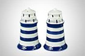 coffee Pot blue lighthouse 16.5x10x16cm
