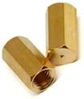 Agilent Column nut for Varian/Bruker, Brass, 2/pk