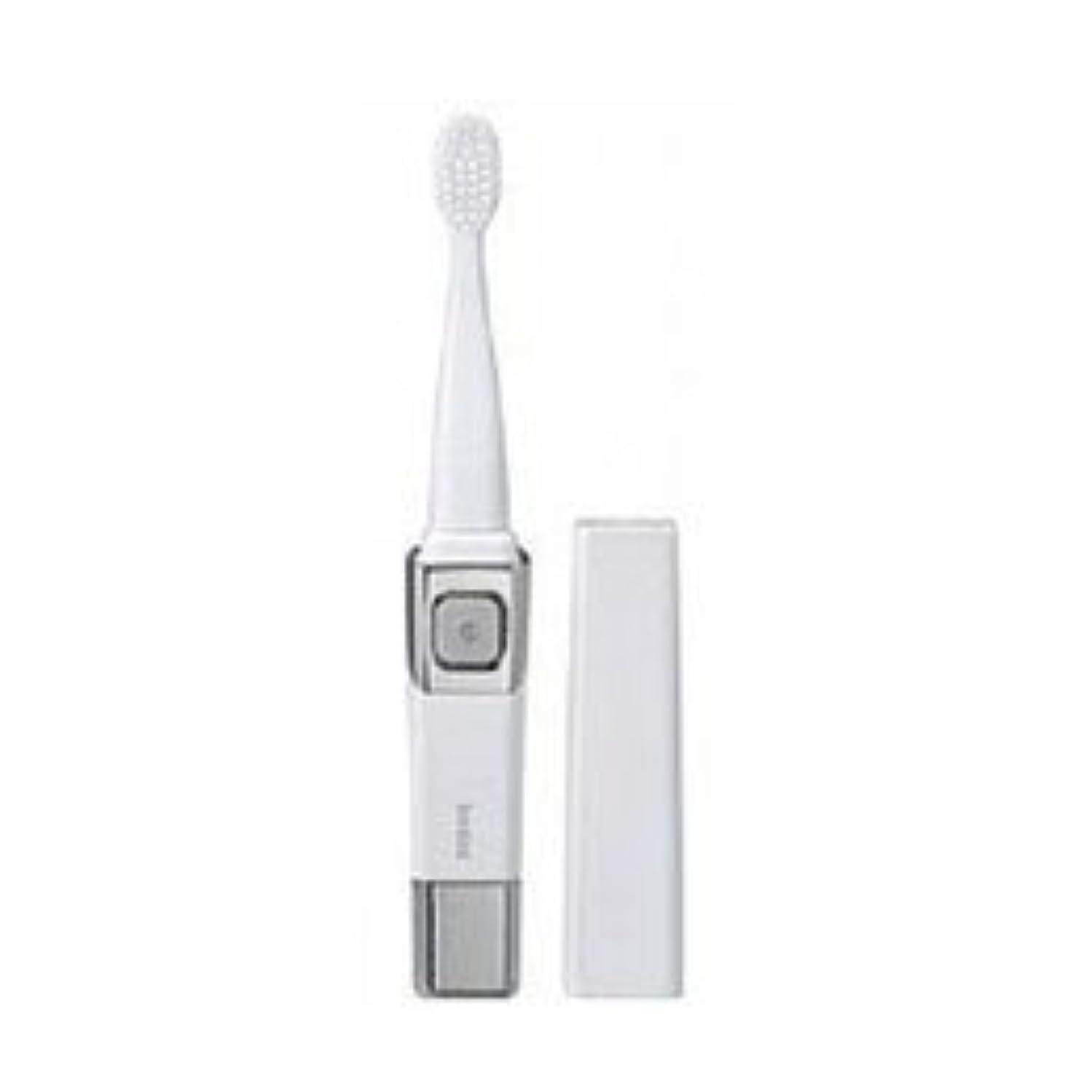 楽観的生き物どっちでも(3個まとめ売り) ツインバード 音波振動歯ブラシ パールホワイト BD-2755PW