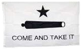 Shop72 - Come and take it Flag Black and White - 3x5 Foot Poly