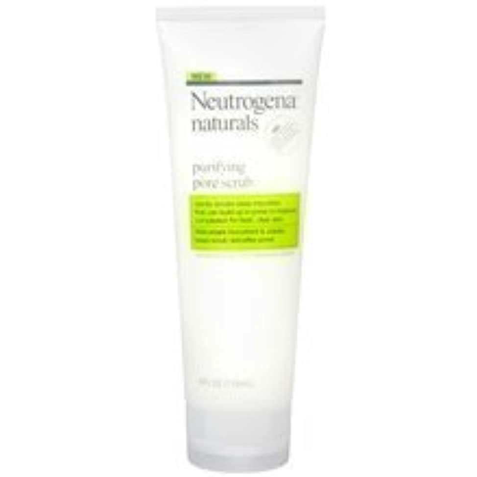 Neutrogena Naturals Purifying Pore Facial Scrub 4.0 oz. (Quantity of 4)
