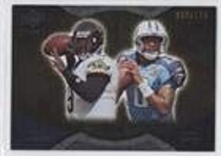 Vince Young; David Garrard #50/199 (Football Card) 2009 Upper Deck Icons - NFL Reflections - Gold #RF-GY