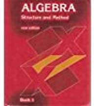 Algebra Structure and Method Book One