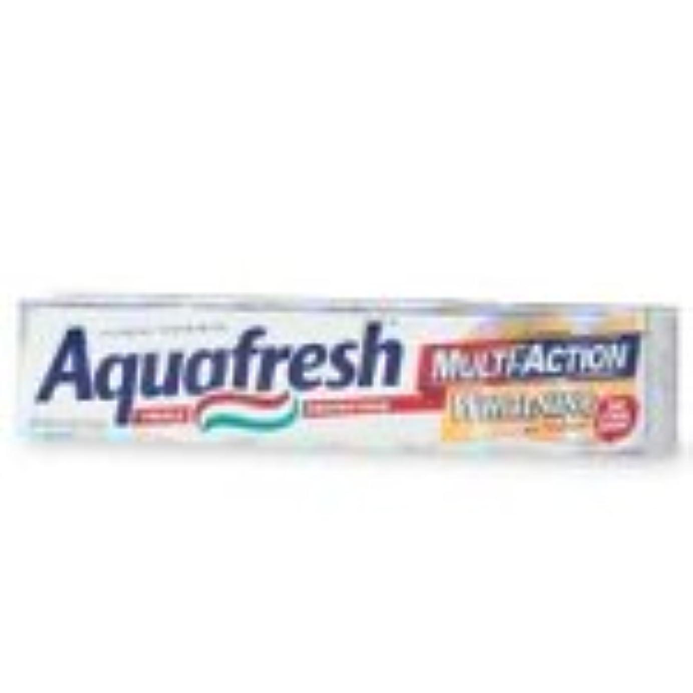 仲間、同僚トランペットしなければならない海外直送品Aquafresh Aquafresh Ultimate White With Enhanced Whitening Action Toothpaste, 6 oz
