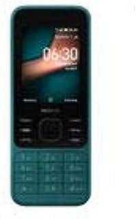Nokia 6300 Dual SIM, 4GB, 512MB RAM, 4G LTE, Cyan