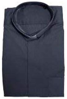 LibreriadelSanto.it Camisa Clergyman gris oscuro manga larga 100% algodón - Cuello 41: Amazon.es: Hogar
