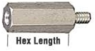 Standoffs Hex Male to Female 1-4 inches 6-32 3-8 inches Aluminum Iridite