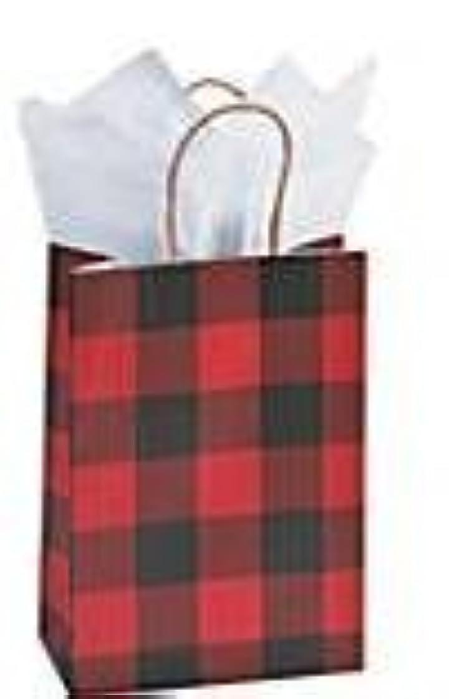Buffalo Plaid Red Black Check Gift Bags