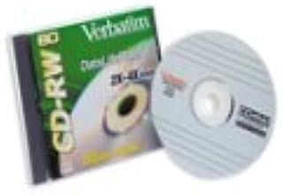 Verbatim CD-RW Datalife+ 80min 4X with Jewel (1-Pack)