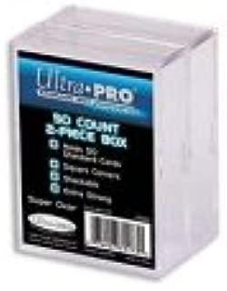 Ultra Pro 50-Count 2-Piece Plastic Box 2-Pack [Sports]: Amazon.es: Juguetes y juegos