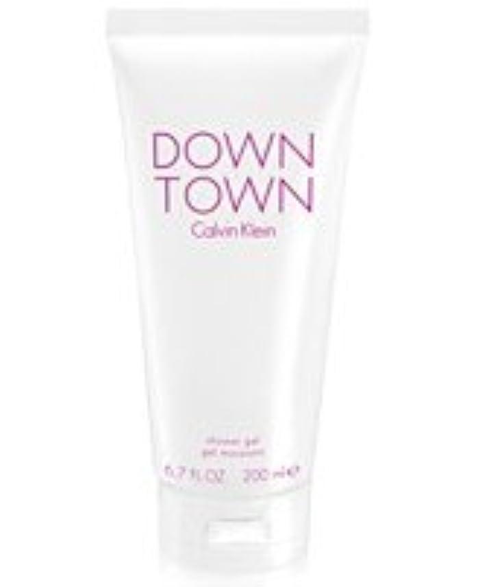 肘掛け椅子腐敗した信号Down Town (ダウンタウン) 6.7 oz (200ml) Body Wash by Calvin Klein for Women