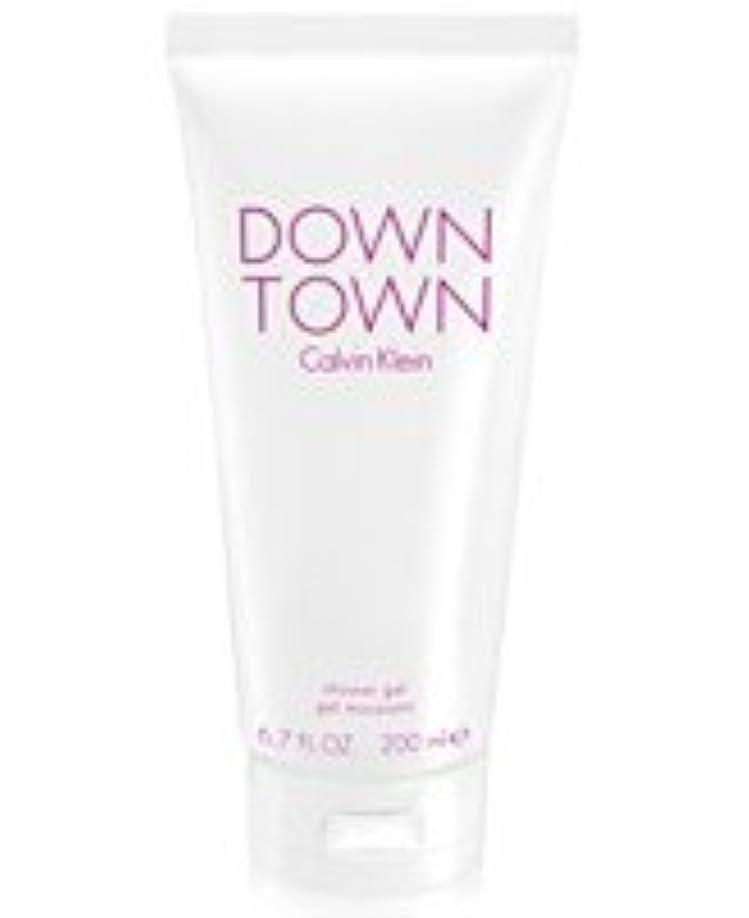 悪因子期待正確さDown Town (ダウンタウン) 6.7 oz (200ml) Body Wash by Calvin Klein for Women