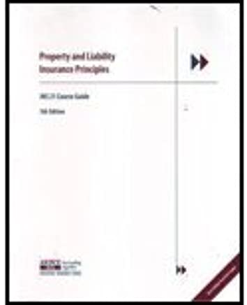 AINS 21 Property And Liability Insurance 5th Edition By