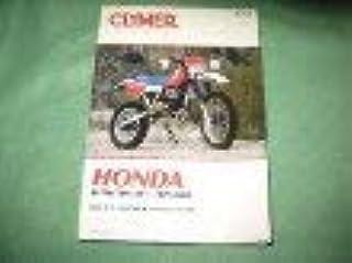 Honda XL/XR 500-650 cc 1979-02 (Clymer Motorcycle Repair)