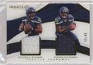 Rashaad Penny; Russell Wilson #45/49 (Football Card) 2018 Panini Immaculate Collection - Immaculate Dual Jerseys #DU-30