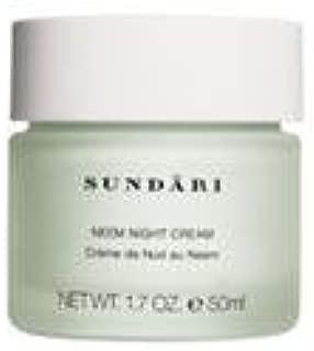 SUNDARI Neem Night Cream for All Skin Types – Paraben Free Face Cream – Skin Care for Women – Anti Wrinkle Cream Best Seller – Wrinkle Prevention Cream