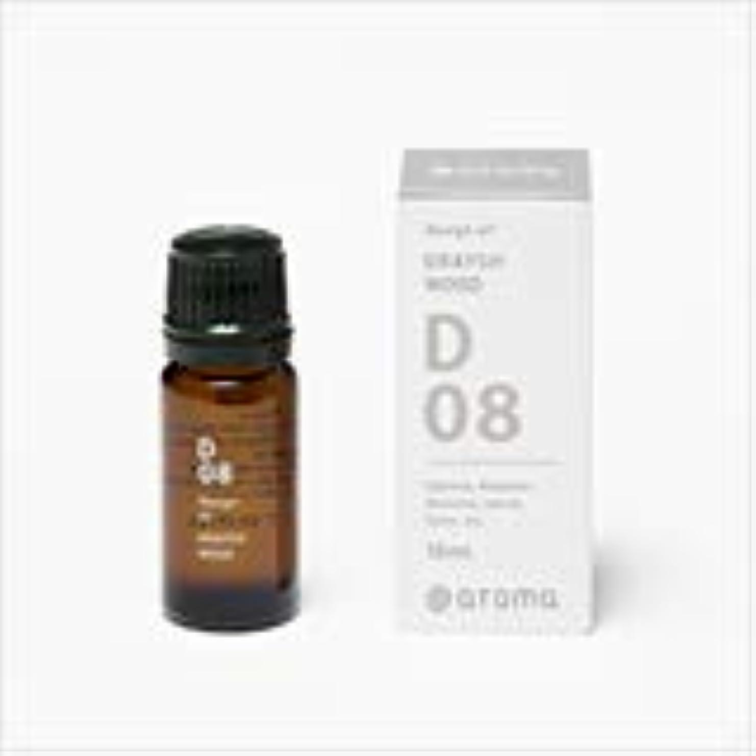 サラダ感嘆チートアットアロマ 100%pure essential oil <Design air グレイッシュウッド>