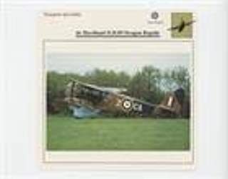 de Havilland D.H.89 Dragon Rapide (Trading Card) 1988-90 Edito-Service Warplanes - [Base] #D1 075 05-16