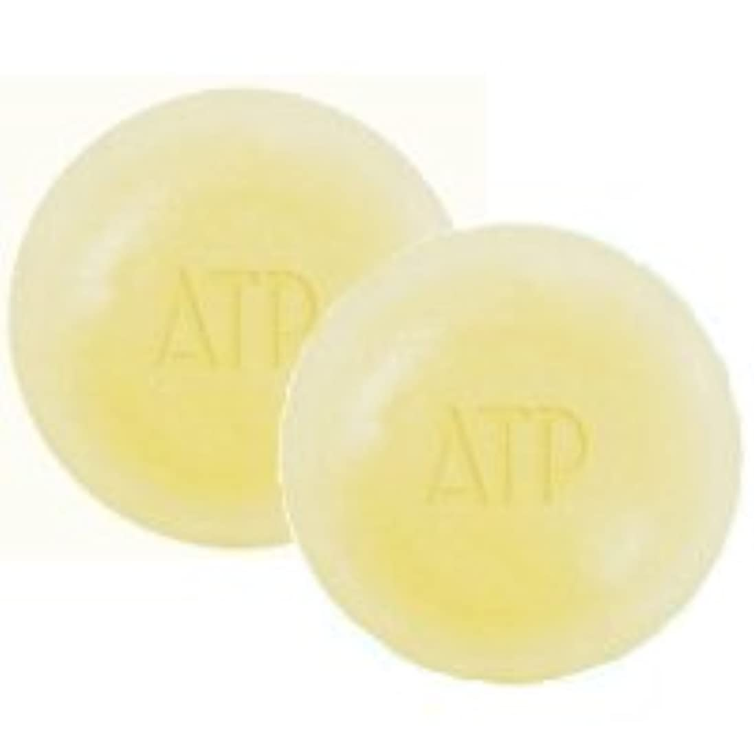 不完全な良性火薬ATPデリケアソープ 100g ケース付 2個セット