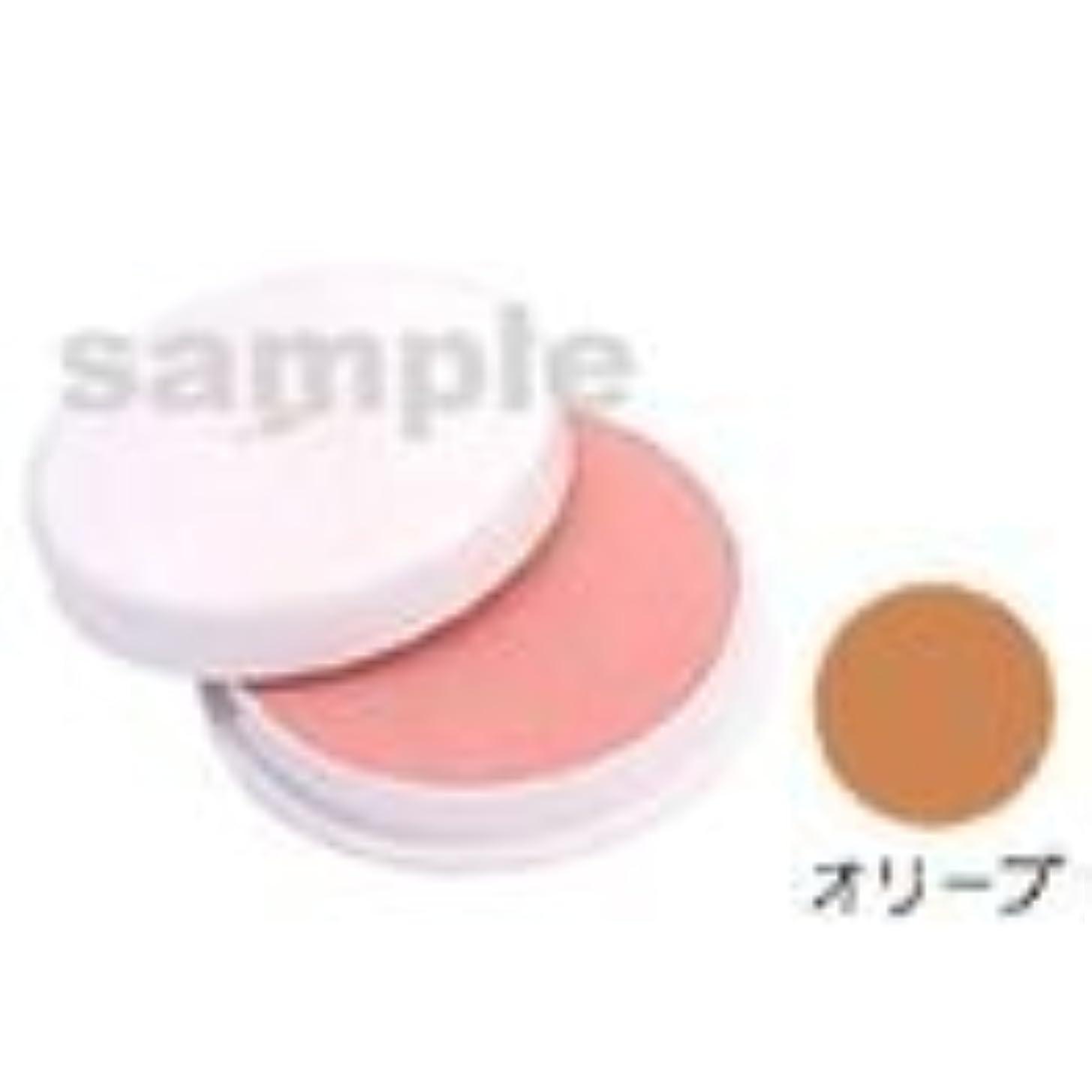 パッチトランペット稚魚三善 フェースケーキ オリーブ
