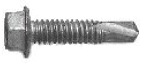 #14 X 1-3//4 10 pcs Flat Phillips Drive AISI 410 Stainless Steel Aspen Fasteners Self-Drilling Screws