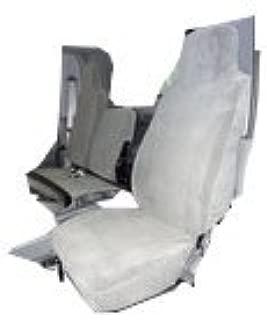 Driver Side Bucket 2006-2019 Isuzu NPR Heavy-Duty Waterproof Exact Custom Fit Seat Covers in Dark Gray Endura Fabric 40//60 Split Bench Seat Durafit Seat Covers