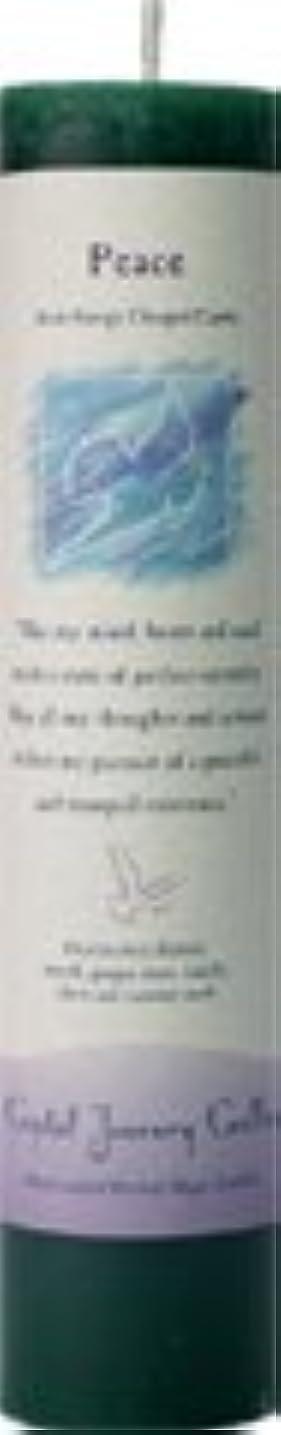 ライバル迫害リッチ魔法のヒーリングキャンドル ピース(平和)