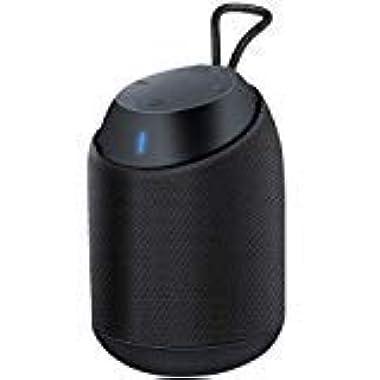 BUGANI IPX7 Outdoor Waterproof Bluetooth Speaker, Portable Wireless Bluetooth V4.2 Shower Speaker with Large Volume