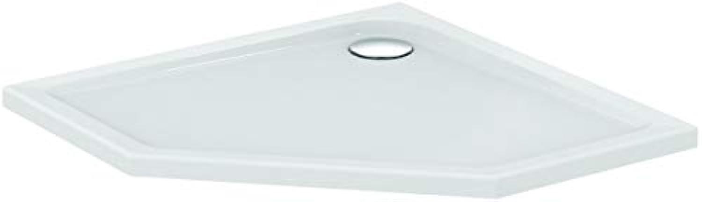 Ideal Standard Fünfeck-brausewanne Connect air, 900x900x45mm, Wei, E105501