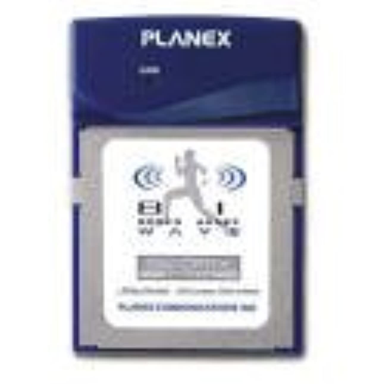 熱フィヨルド細部プラネックス GW-CF11X 11Mbps コンパクトフラッシュ型無線LANアダプタ
