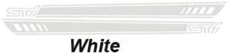2pcs lot Car Sticker  (color Name  White)