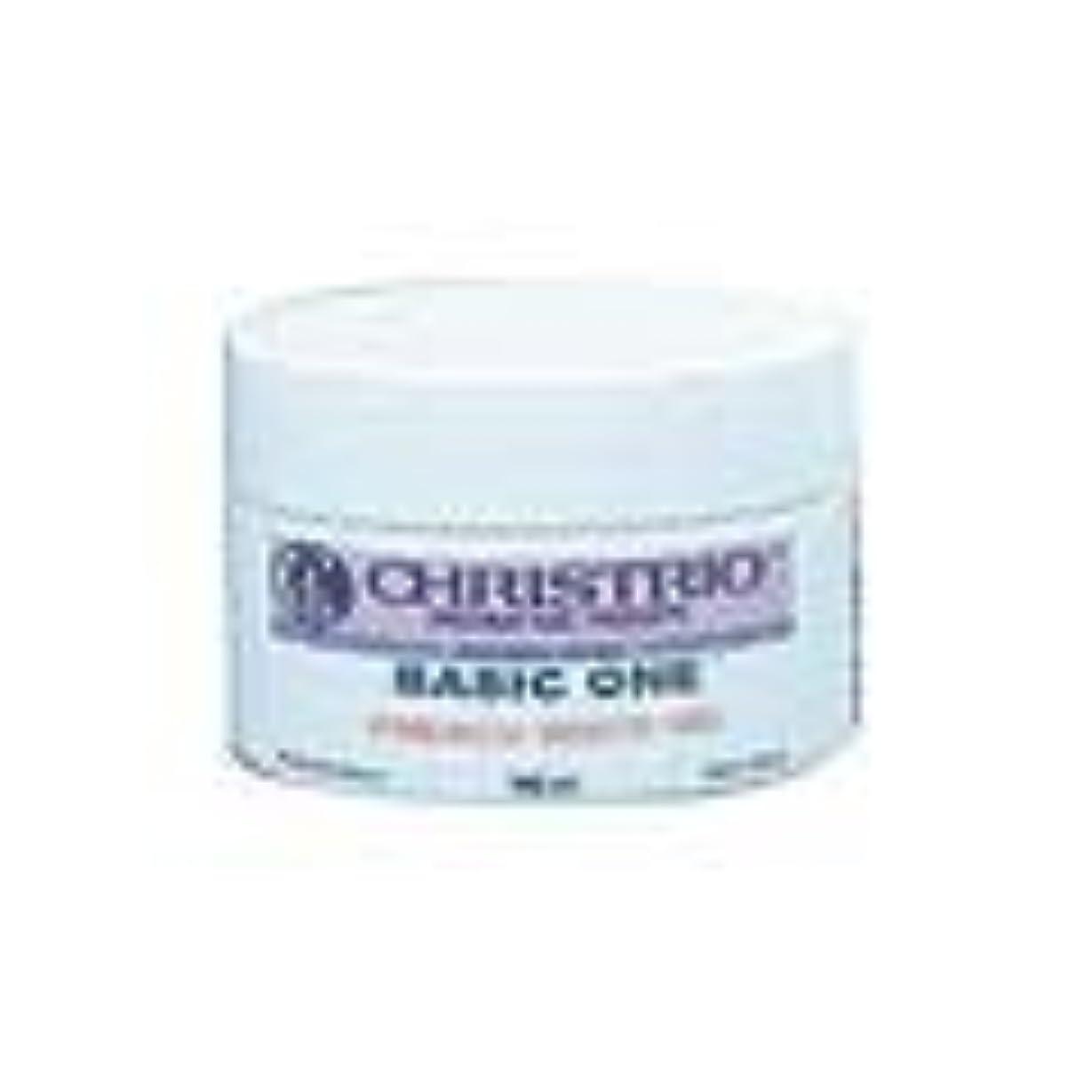 気楽な収容する必須CHRISTRIO フレンチホワイトジェル 14.8ml LED/UV