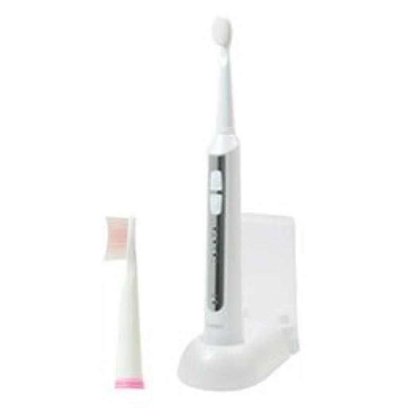 肥料保安トーン【まとめ 5セット】 DRETEC 音波式電動歯ブラシ 高速振動と選べる振動モードでしっかり磨ける ホワイト TB-500WT