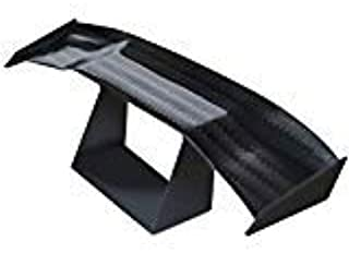manqianxun 1 Pcs Mini Spoiler Auto Car Tail Decoration Spoiler Wing Carbon Fiber by