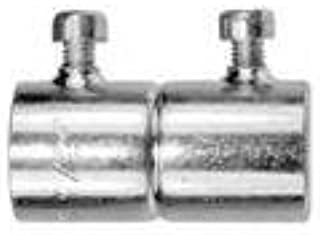 American Fittings Corp SS63US EMT Set Screw Coupling, 1-1/4 inch, Steel- Pack of 5