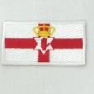 UK COUNTRY FLAG EMBROIRERED IRON-ON PATCH CREST BADGE 1.5 X 2.5 INCHES