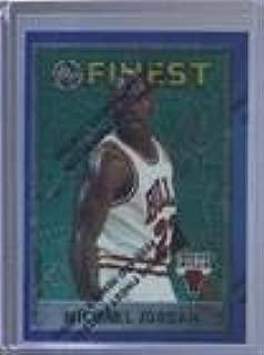 Michael Jordan (Basketball Card) 1995-96 Topps Finest - [Base] #229