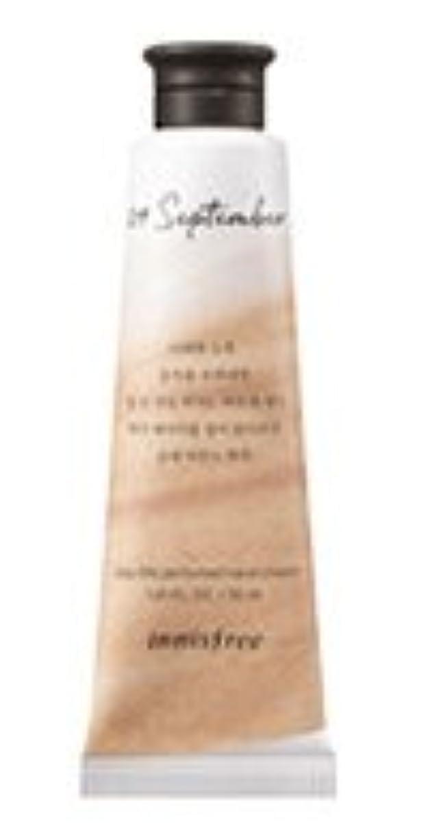 同等のハイキング再生可能Innisfree Jeju life Perfumed Hand Cream (9月 紅茶) / イニスフリー 済州ライフ パフューム ハンドクリーム 30ml [並行輸入品]
