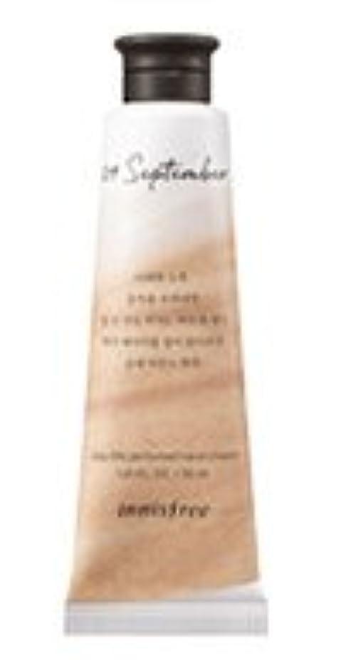 平手打ち男らしい電化するInnisfree Jeju life Perfumed Hand Cream (9月 紅茶) / イニスフリー 済州ライフ パフューム ハンドクリーム 30ml [並行輸入品]