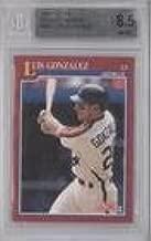 Luis Gonzalez Graded BGS 8.5 NM-MT+ (Baseball Card) 1991 Score Rookie & Traded - Box Set [Base] #99T