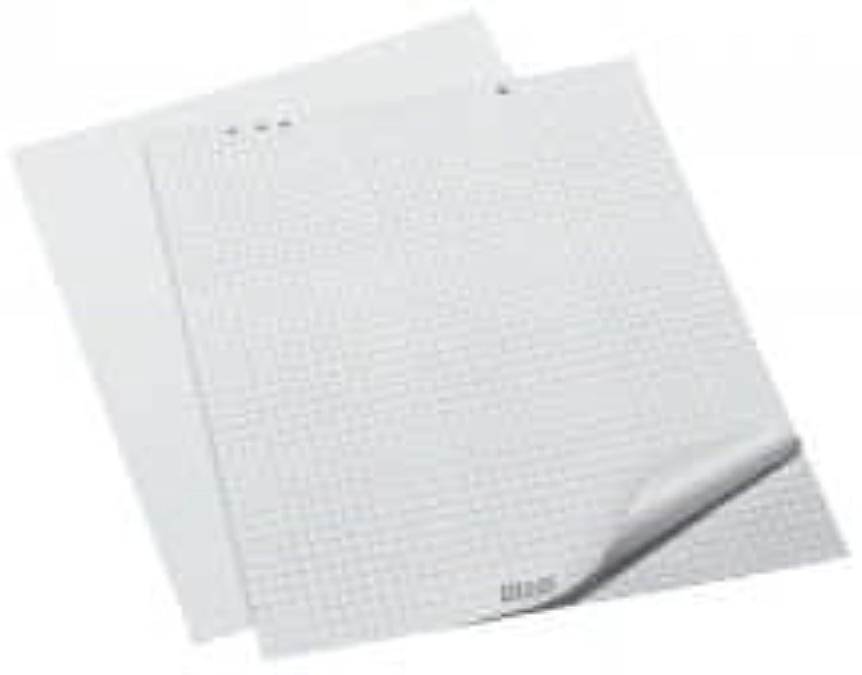 Flipchartblock Weiß perf.20Bl 5St 68X99CM ECF 80G M.UNIVERSALLOCH. B00286CZFM | Wirtschaftlich und praktisch